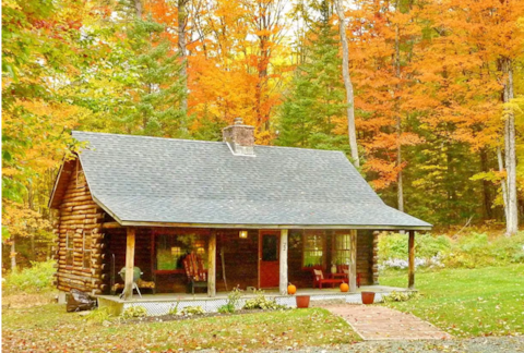 Cozy Log Cabin - NH's Best Foliage Skiing & Hiking