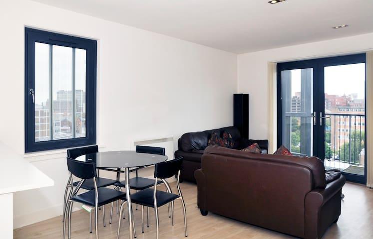LUXURY 2 DOUBLE BEDROOM APARTMENT IN BIRMINGHAM - Birmingham - Apartament