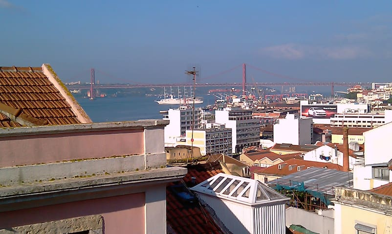 Sunny apartment with a river view - Lisboa - Pis
