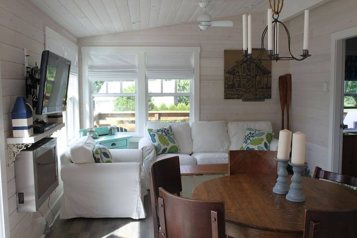 South Beach Seaview Cottage - Point Roberts - Cabaña