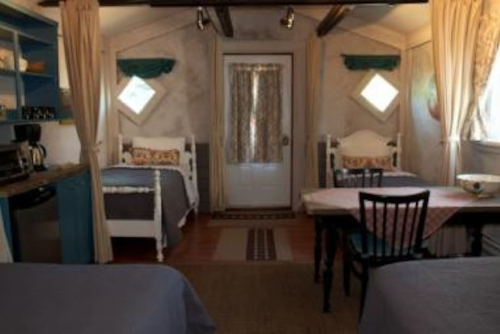 The Funky Bunky   sleeps up to six - one queen, one double, and two single beds