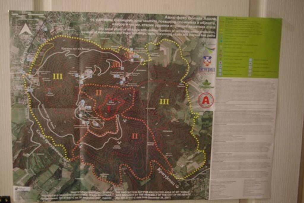 avala map
