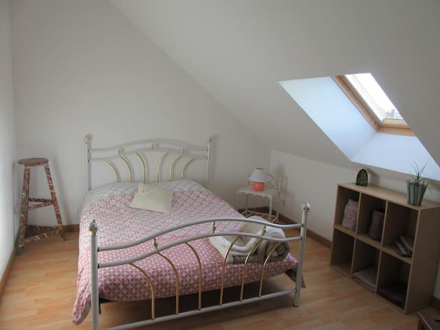 Chambre double au calme à proximité de Vendôme - Épuisay
