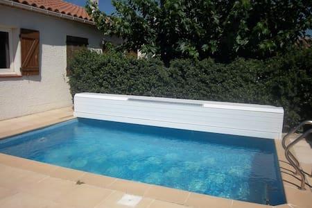 Maison méditerranéenne avec piscine - Saint-Mathieu-de-Tréviers