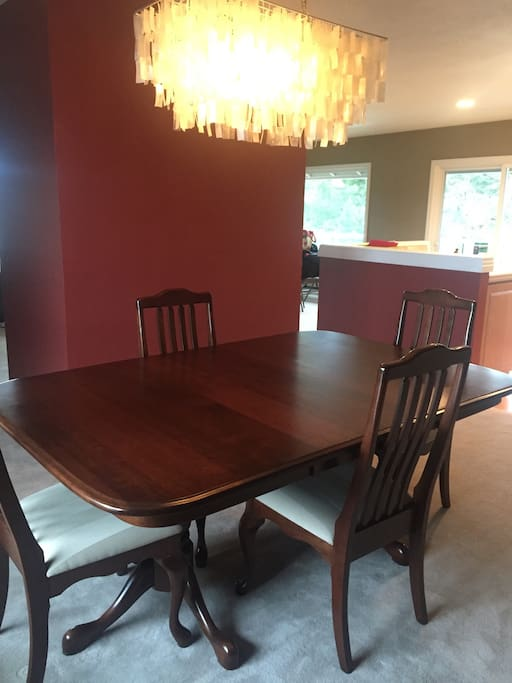 Dining room - Table can seat up to 10.