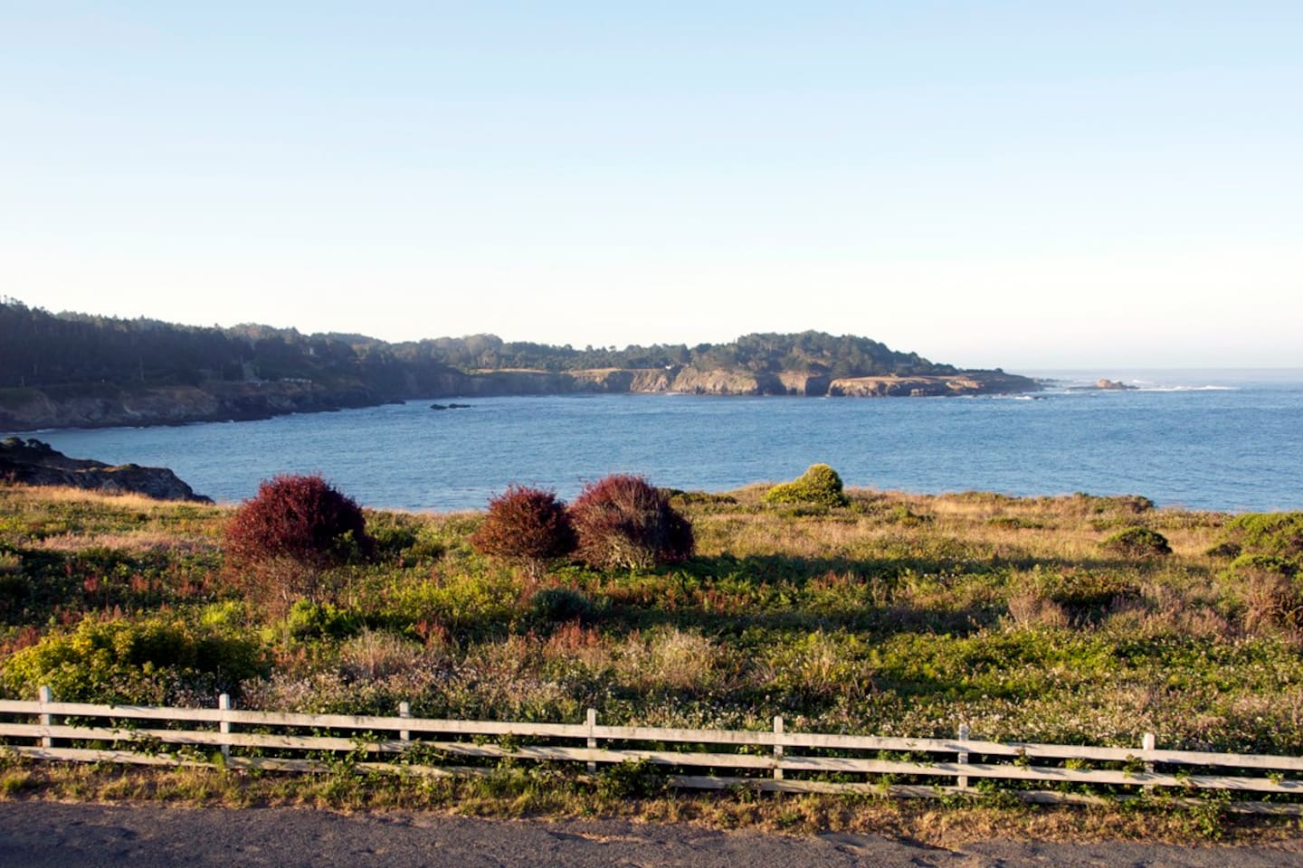 The spectacular Mendocino Headlands State Park is our front yard with hiking, views and beaches