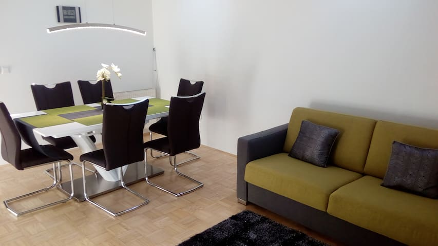 Entire apartment with free parking - Ljubljana - Rumah