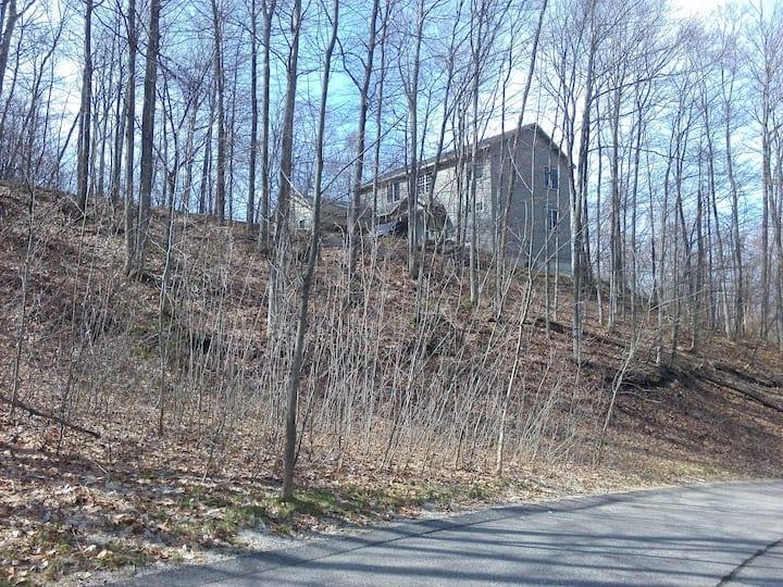 Harbor Springs hilltop home.