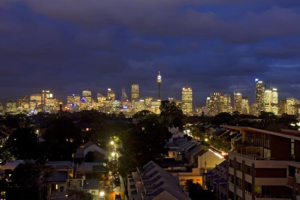 Sydney terrasse avec vue du pont de harbour bridge - Appartement de ville vue ocean sydney ...