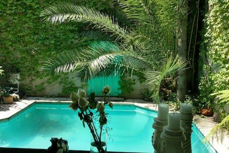 Esplendida casa moderna con piscina - House