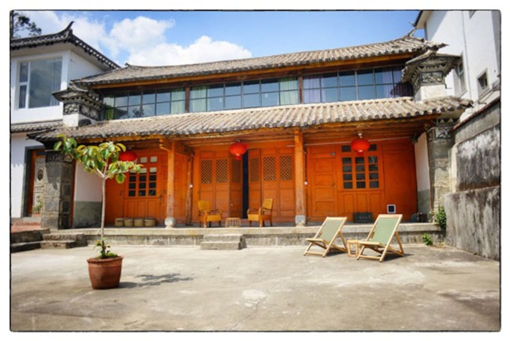 Orange Building - Guest Rooms