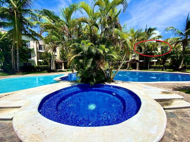 Carey, large apartment with terrace in Bavaro
