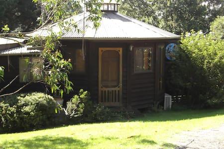 Eureka Yurts!  A unique Highlands experience