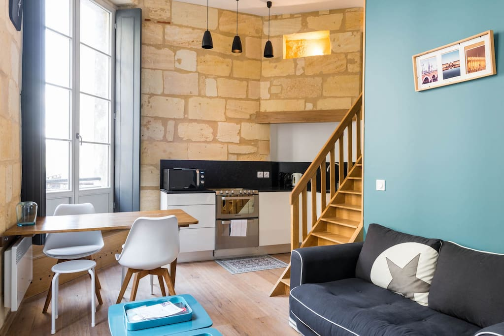 Superbe appartement triangle d 39 or appartements louer for Appartement bordeaux triangle d or