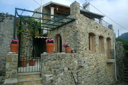 Refurbished old stone house - Huis
