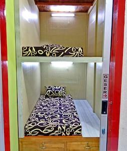 Your best budget capsule hostel in Gunungsitoli