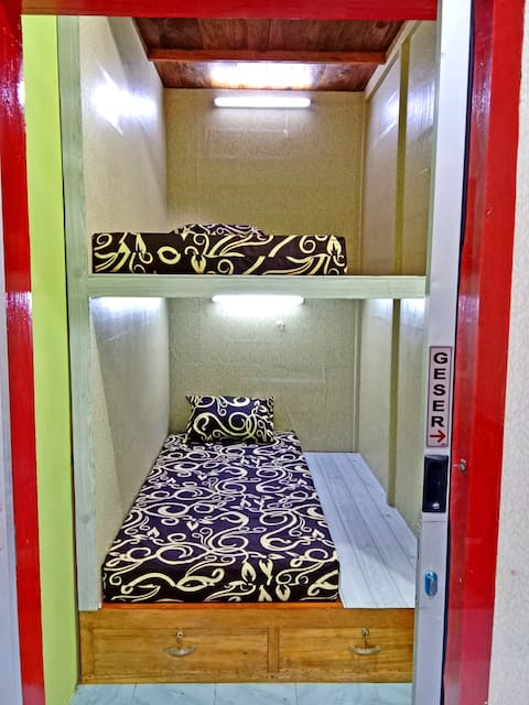 Your best budget capsule hostel in Gunungsitoli