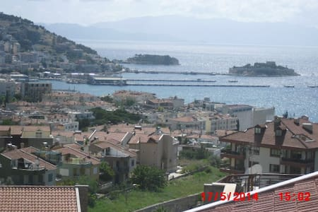 FOR RENT PENTHOUSE WITH SEA VIEW IN KUSADASI - Podkroví