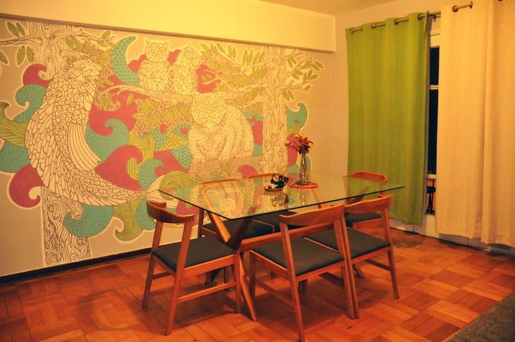Amplio departamento Ñuñoa - Ñuñoa - Appartement