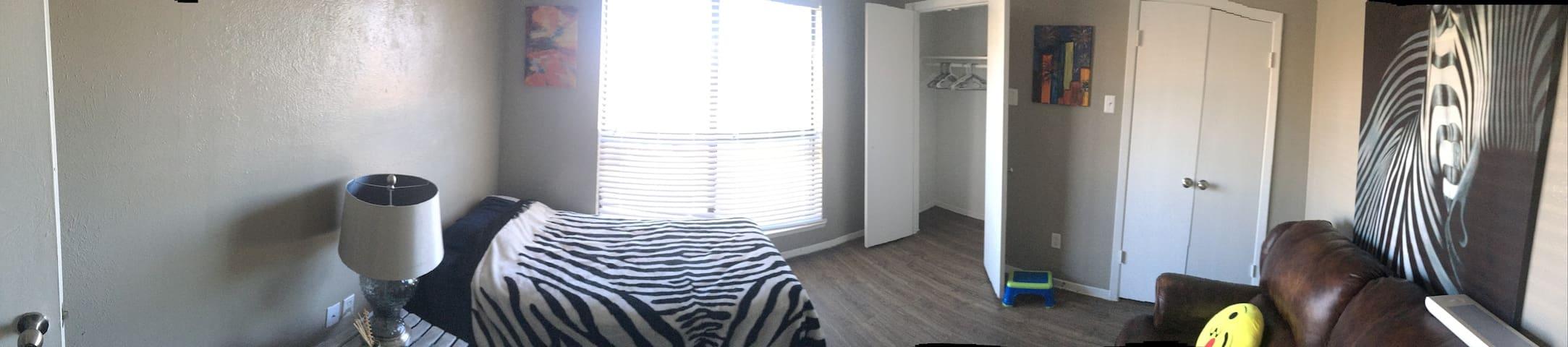 Cuarto luminoso - Irving - Apartament