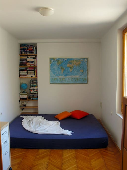 Small but cosy room.