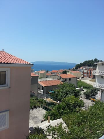 View from terase