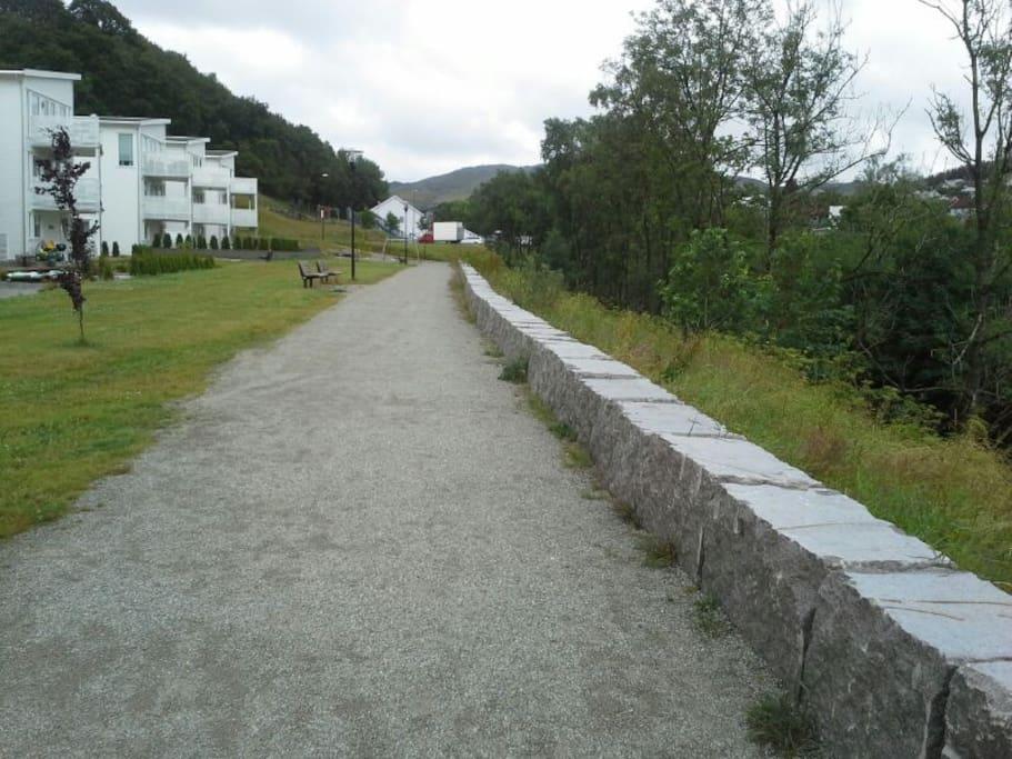 Beautiful surrounding area for walks