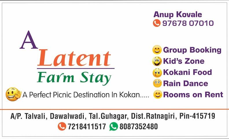 A Latent Farm Stay , Guhagar , Ratnagiri