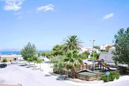 Villa in front of the sea - Colonia Sant Pere