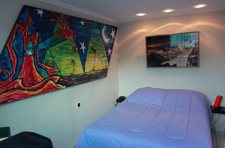 A cozy bedroom!
