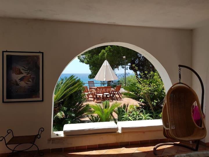 Villa Gar  vista mare,magnifica baia