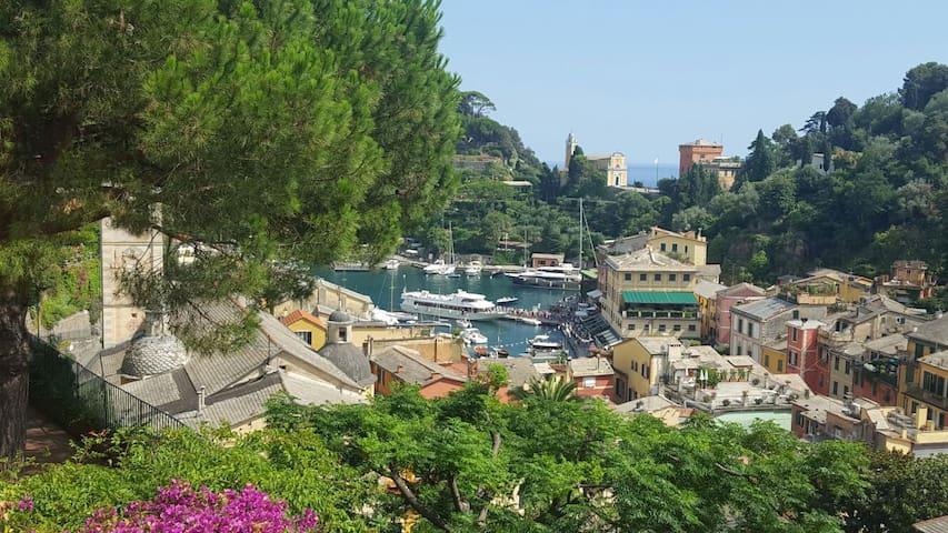 Portofino, luxury apartment in House with Terraces - Portofino - Villa
