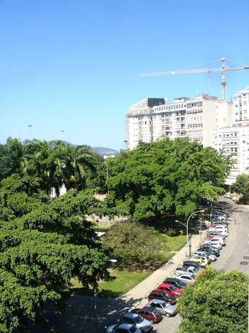 View over the famous Gloria Hotel