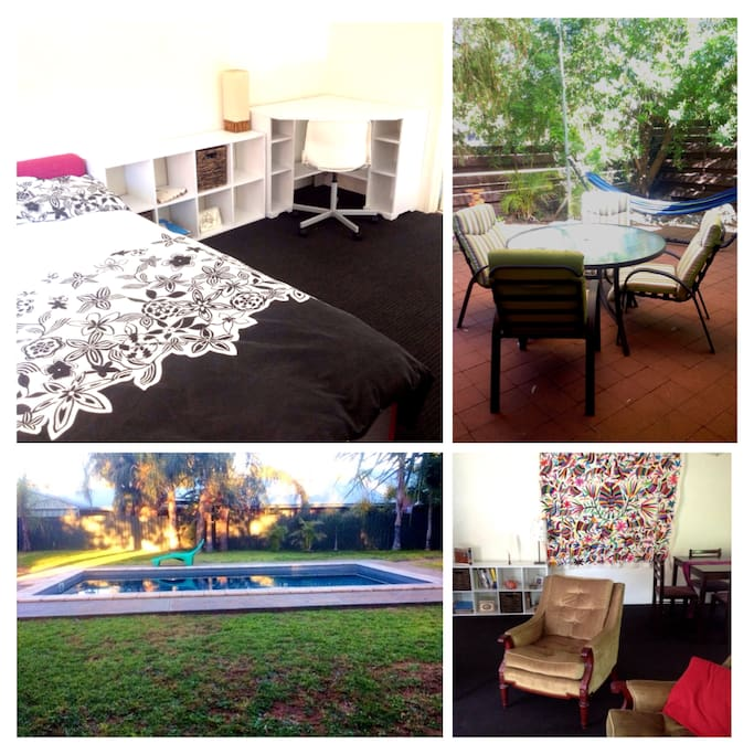 A cosy and colourful stay in Alice Springs