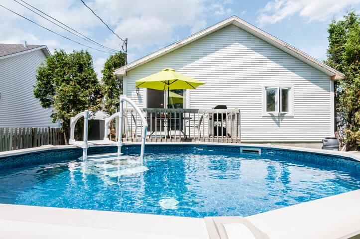 Maison unifamilale avec piscine - Terrebonne - House