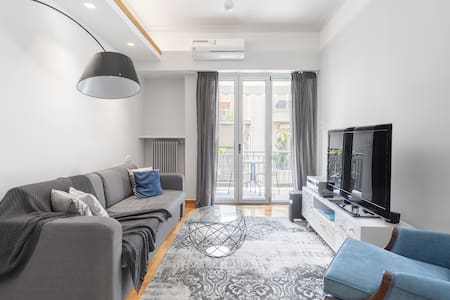 Luxury 1-BDRM boutique apt in Kolonaki