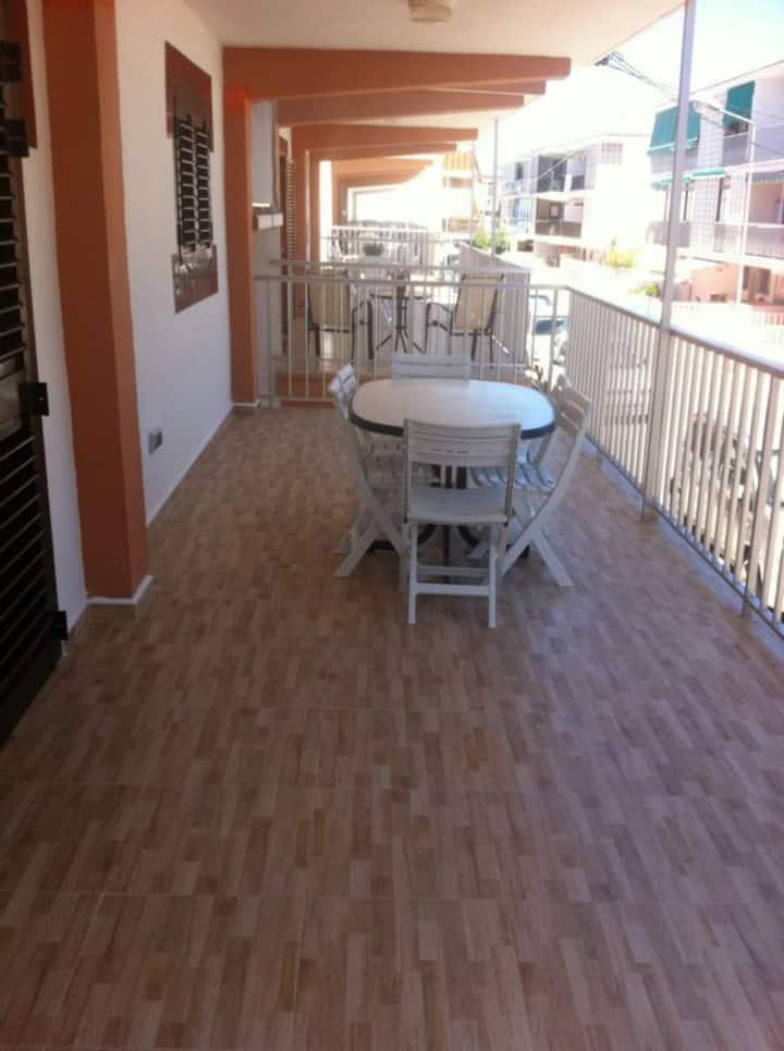 alquiler apartamento playa Oliva