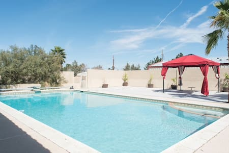 LG private apartment,an oasis in the desert! North