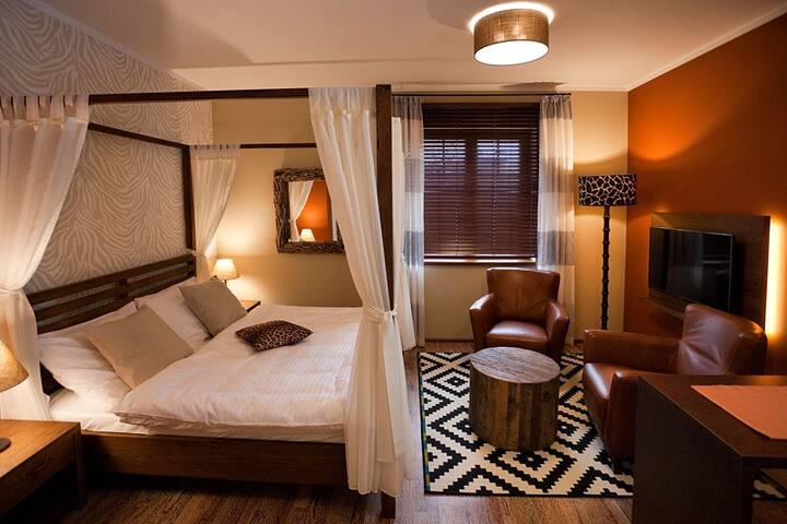 Luhačovice - wellnesapartmánový dům - Luhačovice - Bed & Breakfast