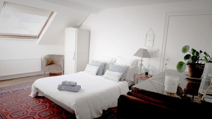 Bruxelles (Ixelles) chambre privée