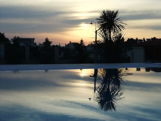 Villa Nea Politeia - Romantic &  Beautiful Sunsets - Nea Politia - Casa de campo