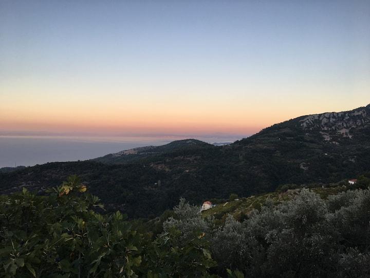 Manolates mountain view house