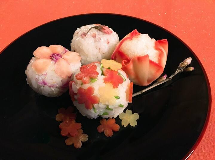 Spring Temari -Sushi
