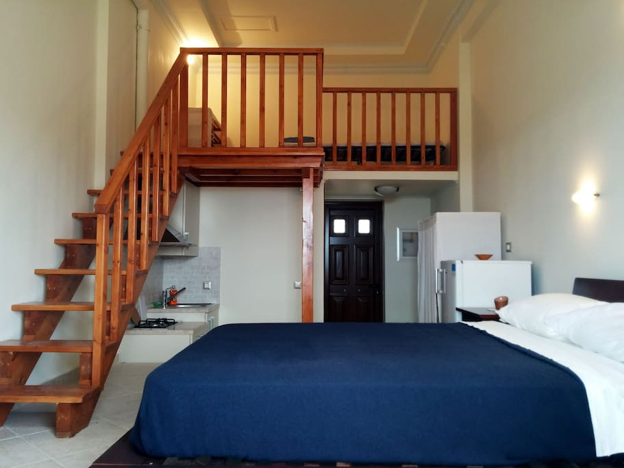 your bedroom and loft