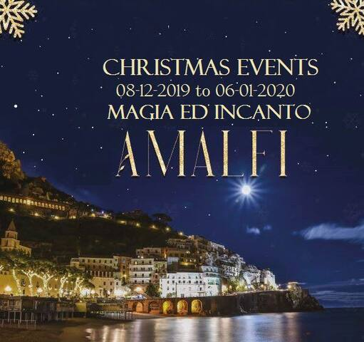 come to the Amalfi Coast to celebrate an amazing Christmas holiday! from 8 December 2019 to 6 January 2020!