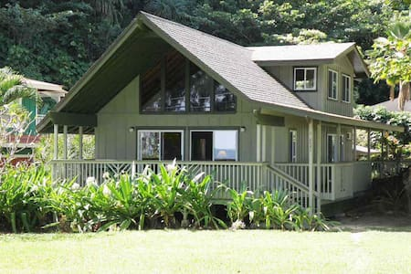 Hale Kamapua'a-Relax to the sound of ocean waves ! - Hanalei