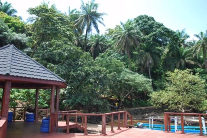 Private Uninhabited Tropical Island
