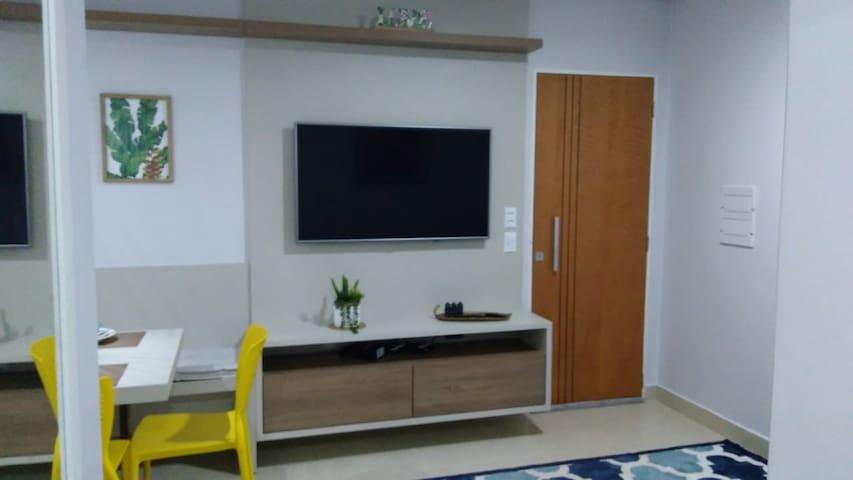Apartamento confortável e aconchegante.