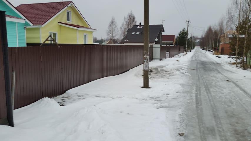 Сдается Загородный дом Сад-дство СНТ НАДЕЖДа ВАТТ - gorod Sankt-Peterburg - Hus