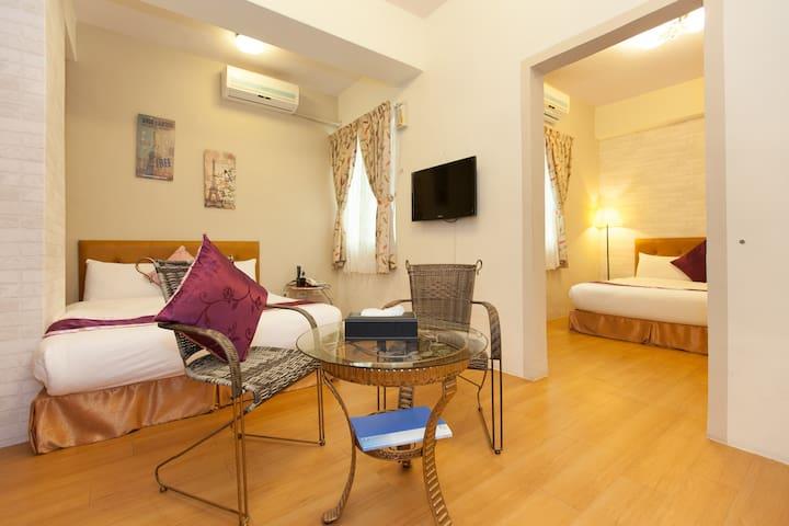 舒适、干净、明亮,车站及夜市免费接送 - 花蓮 - Bed & Breakfast